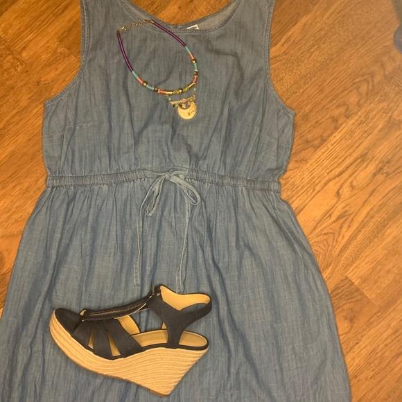 Women casual jean Dress Old Navy  mezclilla